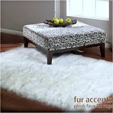 white fur area rug elegant fake bear rug faux fur bedroom rug