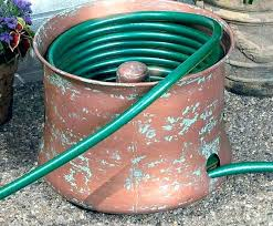 garden hose storage coiled garden hose storage ideas container holder stake garden hose container with lid