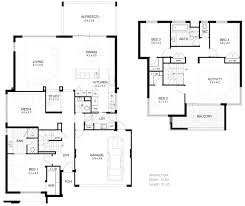 modern minimalist 2 floor plan image simple small 2 y house plan