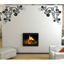 room decor wall stickers flower art wall decal living room decorative wall sticker wall graphics bedroom wall decor stickers