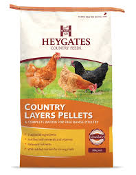 Heygates Country Layers Pellets: 20kg - Little Peckers