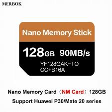 Huawei Mate20/P30 Pro NM kartı Nano hafıza kartı 128GB 90 MB/S NM kart  USB3.1 gen 1 tip c çift kullanımlı TF/NM kart okuyucu Kart Okuyucular
