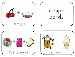 recipe cards for kids. Brilliant Cards Kids Recipe Cards With For