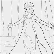 Frozen Elsa Coloring Pages Pretty 1000 Images About Kleurplaten