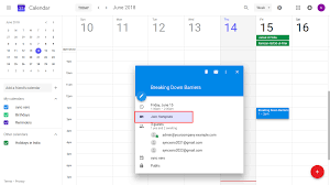a new meeting in odoo and if add hangout meeting is set on meeting automatically event is added as hangout meeting in google calender invitation mail