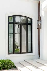 Divided Light Windows Clad Windows Slight Arch Same Pattern Of Divided Light