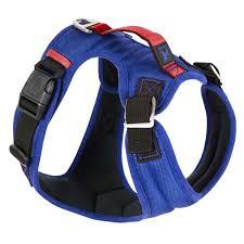 Gooby Pioneer Dog Harness Blue