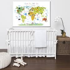 animals world map 2 dream big little one