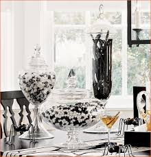 black and white candy buffet for a formal event or a party
