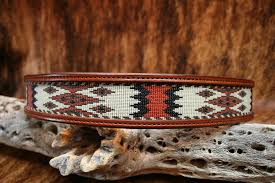hitched horse hair hh3 leather belt