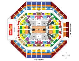 42 Methodical Spurs Seating Map