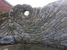 stone wall art attractive artist couple creates gorgeous installations in 27  on stone wall artist with stone wall art attractive spiral within 6 radioakhmoo stone