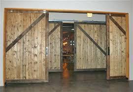 wood sliding door x non warping large barn doors year guarantee exterior glass