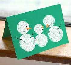 Christmas Card Making Ideas For Children  Simple 15 Minutes Christmas Card Craft For Children
