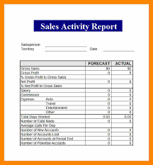 8+ Daily Activity Report Template Free Download | Lobo Development
