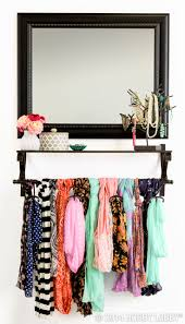 7 Cool Ways To Store Scarves Small Room Ideas