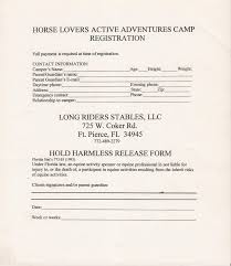 Long Riders Stables Llc - Camp Registration