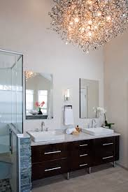 modern bathrooms designs and remodeling htrenovations chandelier bathroom chandelier bathroom vent