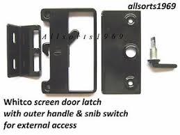 sliding screen door latch. Image Is Loading SLIDING-SCREEN-DOOR-LOCK-BASS-LATCH-amp-CATCH- Sliding Screen Door Latch