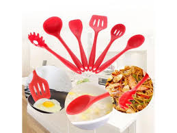 <b>High Quality 6PCs</b>/Set Food Grade Silicone Kitchen Tools Non-Stick ...