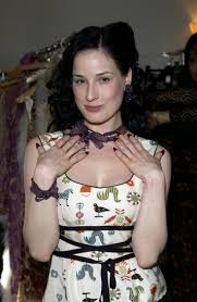 dita von teese without her makeup