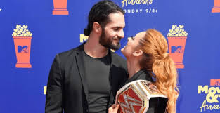 Lynch had to vacate the championship because she is pregnant with her first child. Wwe Carmella Drake Maverick Peyton Royce And Many Other Wwe Superstars Sent Their Best Wishes To Seth Rollins And Becky Lynch S Daughter