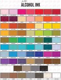 Tim Holtz Alcohol Ink Color Chart Clover Tim Holtz Alcohol Ink