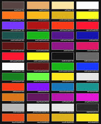Ppg Auto Paint Color Chart Coloringvic Org