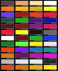 Ppg Paint Color Chart Ppg Auto Paint Color Chart Coloringvic Org