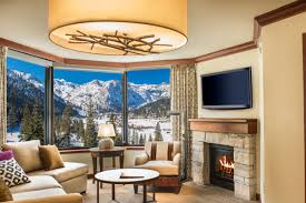 Lake Tahoe 2 Bedroom Suites Squaw Valley Lodging Resort At Squaw Creek Fireplace Suites