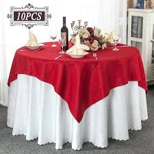 round outdoor tablecloth whole crochet square table cover chair for wedding decorative cloth oval tablecloths umbrella