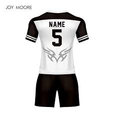 amp; Custom Soccer On White 0 From professional 145 Sets Jersey And Color-in Us Design Sports Black Any Cool Sublimation Entertainment