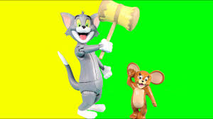 Tom And Jerry The Movie Toys Tom Chases Jerry Around The House With Falls  Crashes & Laughs - YouTube