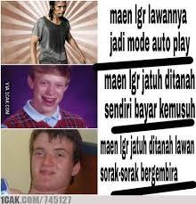 ketika para meme maen Line Get Rich - 1CAK - For Fun Only via Relatably.com