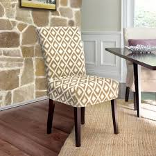 interesting slipcovered dining chairs with modern dining chair slipcovers cotton duck shorty dining chair
