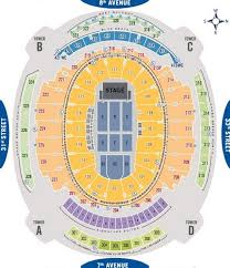 Msg Knicks Seating Chart Best Picture Of Chart Anyimage Org