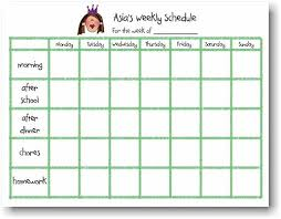 schedule weekly starfish art pads single weekly schedule pad more than paper