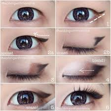chances are that if you have single eyelids that tutorials done by s with double eyelids turn out quite diffe applying eyeliner and eye shadow if