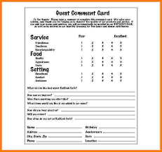 Restaurant Survey Cards 10 Best Comment Cards Images On Pinterest Diners Restaurant And
