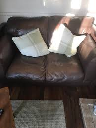 large 2 seater real leather sofa black friday it s still free