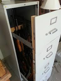 Convert Cabinet To File Drawer Furlough Project Hidden Gun Cabinets Hidden Gun And Awesome
