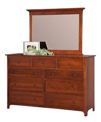 Tall Dresser Drawers Bedroom Furniture Bedroom Furniture Amish Custom Furniture