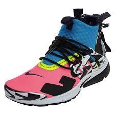 Nikex Acronym Air Presto Mid High Top Sneakers Mens