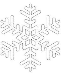 111 Best Snowflake Template Images Snowflake Template