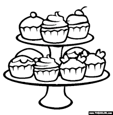 Small Picture Beautiful Cupcake Coloring Book Gallery Printable Coloring Pages
