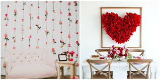 Small Picture 14 DIY Valentines Day Decorations Best Homemade Decorating