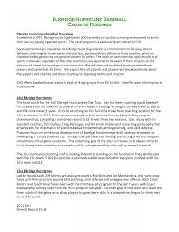 Athletic Resume Template Free Charming Idea Sports Resume Athletic Coachample Coaching Template 52