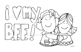 Small Picture Amazing Bff Coloring Pages 49 On Coloring Pages Online with Bff