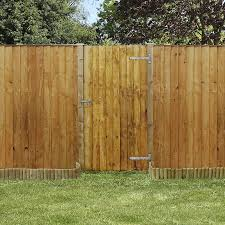 image to enlarge 6ft x 3ft waltons feather edge wooden garden gate