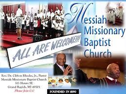 Rev. Dr. Clifton Rhodes, Jr. - Messiah's Children's Choir - Way Down In My  Heart - YouTube
